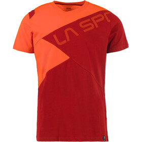 La Sportiva Float T-Shirt Uomo, chili/pumpkin